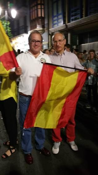 Con Toño Hevia, el pionero :-)